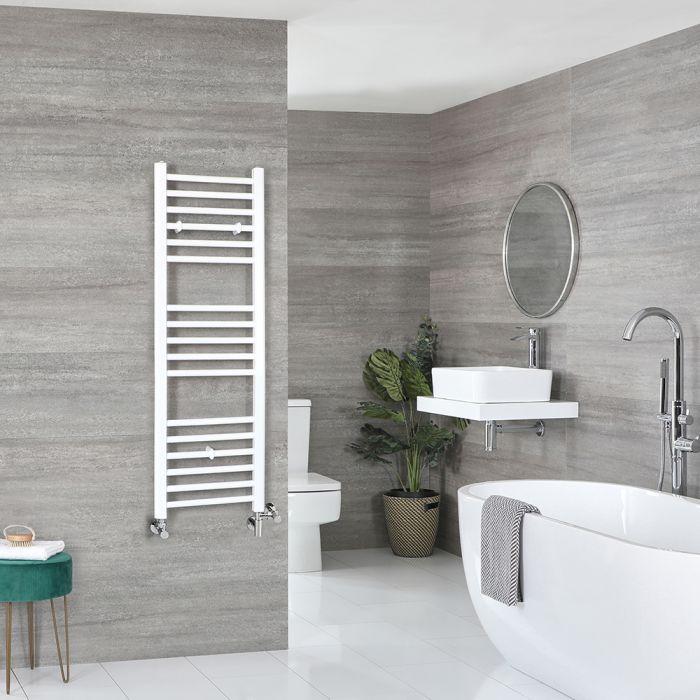 Sèche-serviettes mixte plat – Blanc – 120 cm x 40 cm - Ive