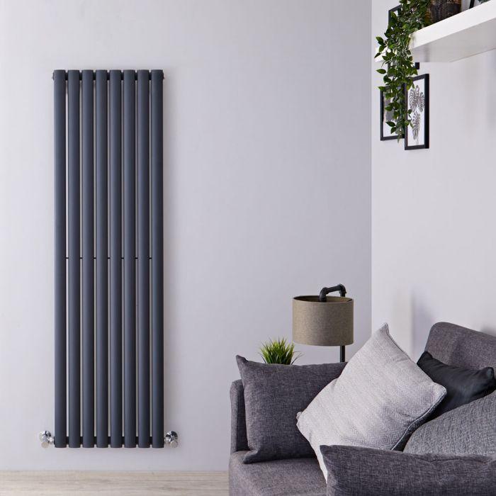 Radiateur design vertical – Anthracite – 160 cm x 47,2 cm - Vitality
