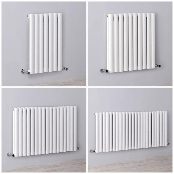 Radiateur design horizontal blanc - Choix de tailles - Vitality