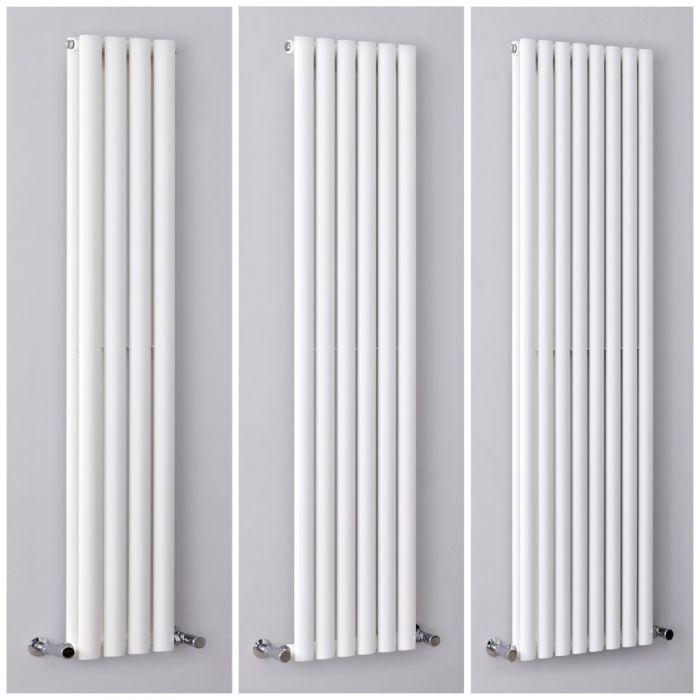 Radiateur design vertical blanc - Choix de tailles - Vitality