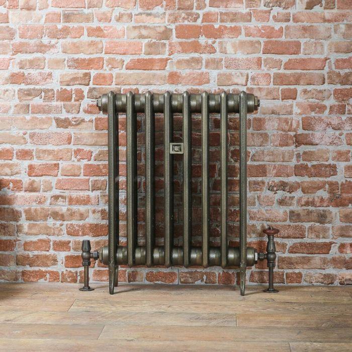 Radiateur fonte - 66 cm – Laiton antique – Tailles multiples - Victoria