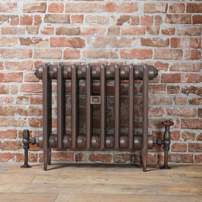 Radiateur fonte - 46 cm – Cuivre antique – Tailles multiples – Victoria