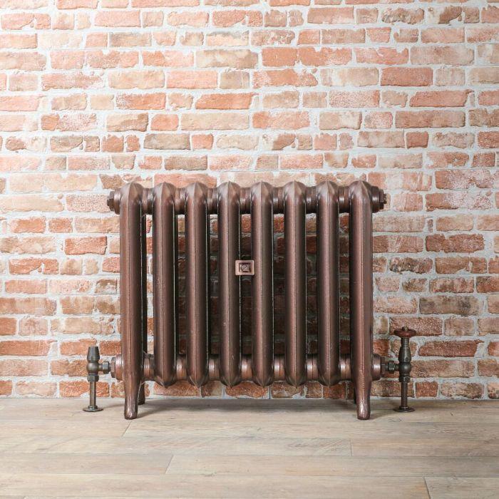 Radiateur fonte - 56 cm – Cuivre antique – Tailles multiples – Erté