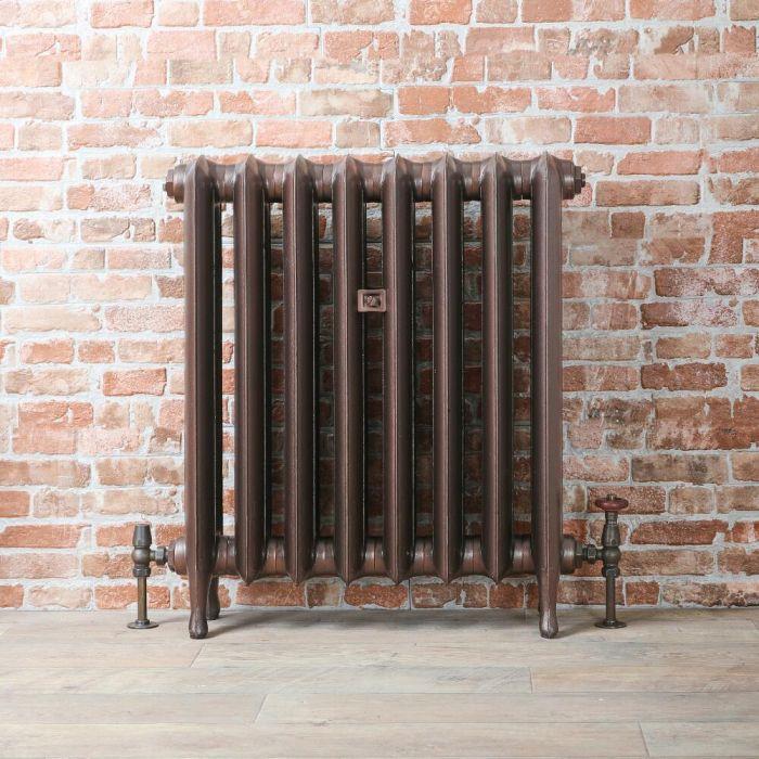 Radiateur fonte - 76 cm – Cuivre antique – Tailles multiples – Erté