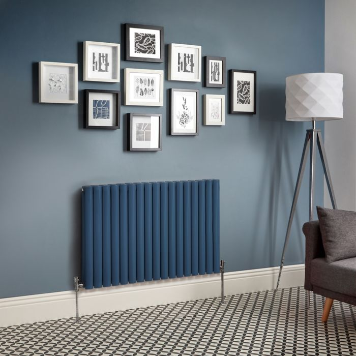 Radiateur design horizontal – Bleu foncé – Choix de tailles - Vitality