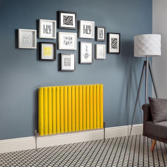 Radiateur design horizontal – Jaune – Choix de tailles - Vitality