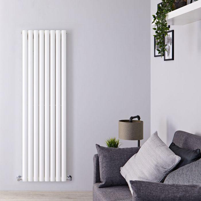 Radiateur Design Vertical Blanc Vitality 160cm x 47,2cm x 5,6cm 1122 Watts