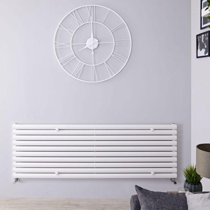 Radiateur Design Horizontal Blanc Vitality 59cm x 160cm x 7,8cm 1299 Watts
