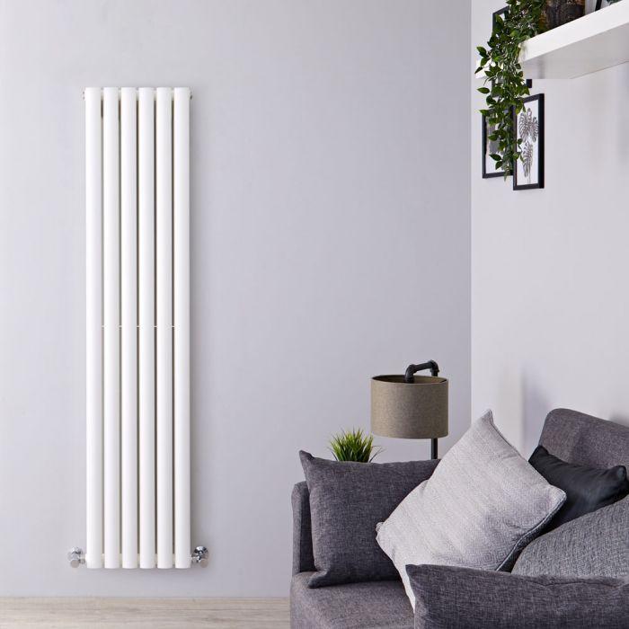 Radiateur design vertical - Blanc – 160 cm x 35,4 cm - Vitality