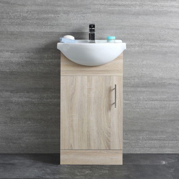 Meuble-lavabo 44x78x45cm Classic Oak