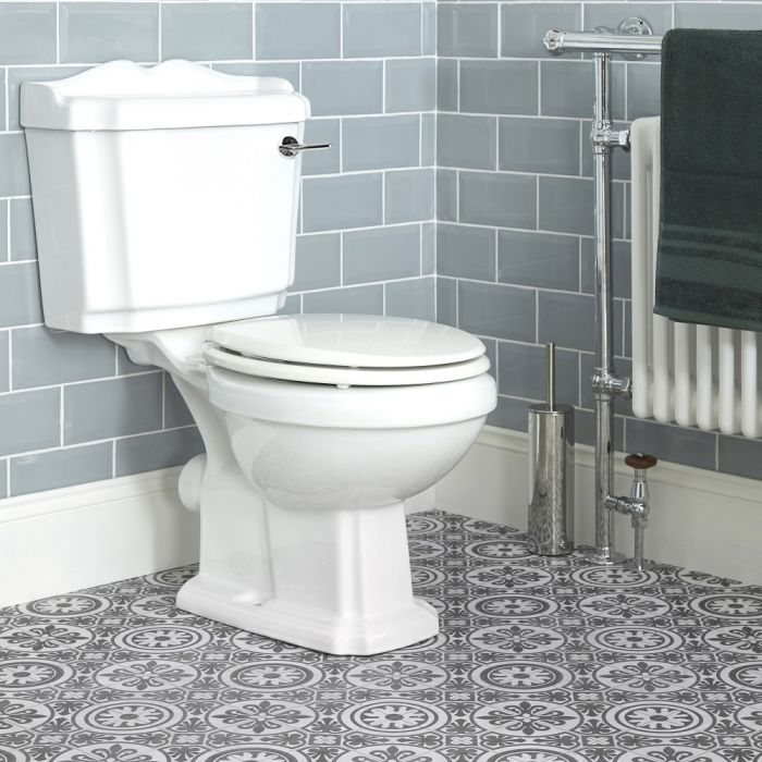 Pack WC rétro - Blanc - Legend