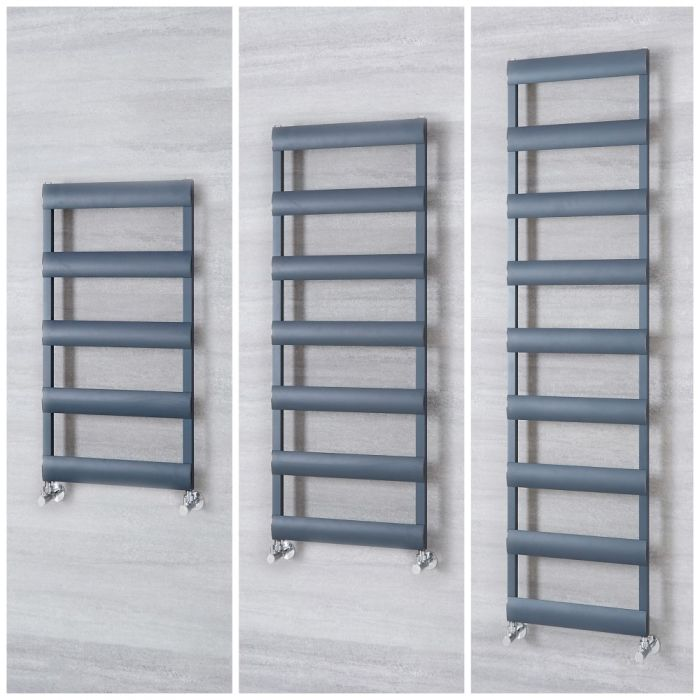 Sèche-serviettes en aluminium – Anthracite – Choix de tailles - Ordo