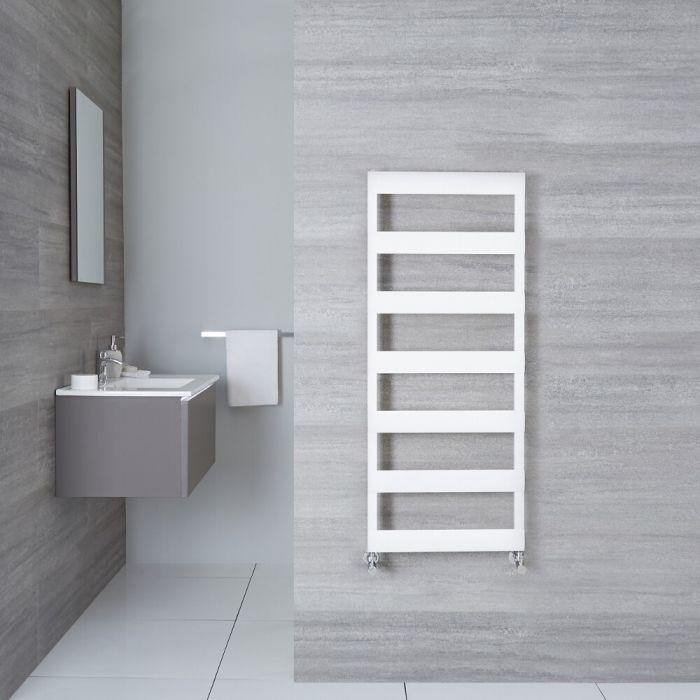 Sèche-Serviettes Aluminium Blanc 119cm x 50cm x 3.6cm 531 Watts Ordo