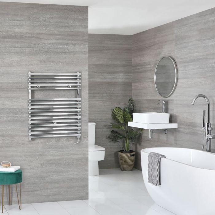 Sèche-serviettes électrique – Chromé – 73 cm x 45 cm - Arno