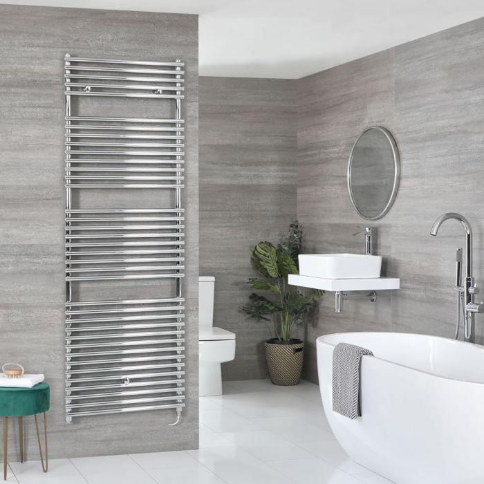 Sèche-serviettes électrique – Chromé – Choix de tailles et élément chauffant – Arno