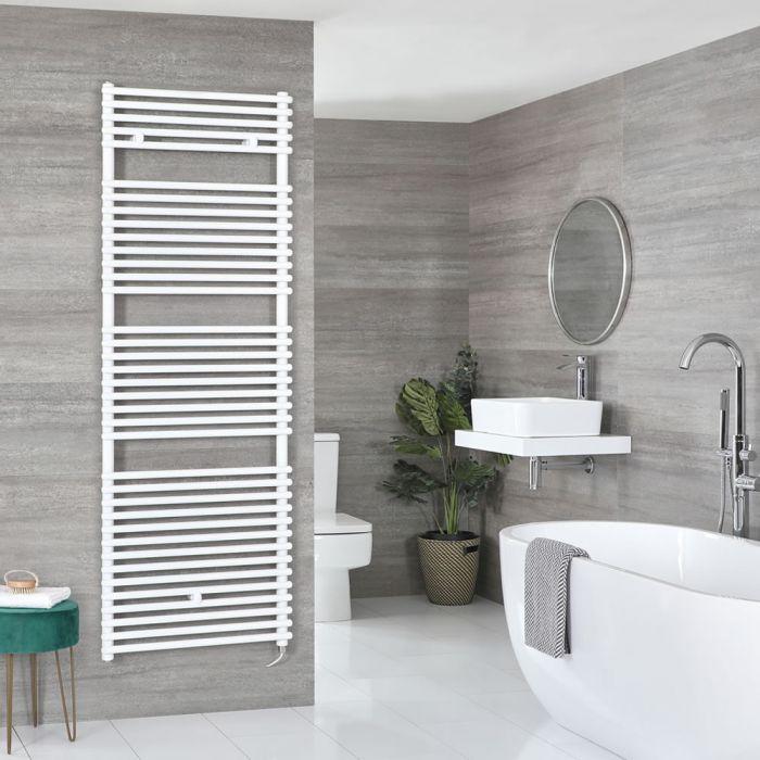 Sèche-serviettes électrique – Blanc – Choix de tailles et élément chauffant – Arno