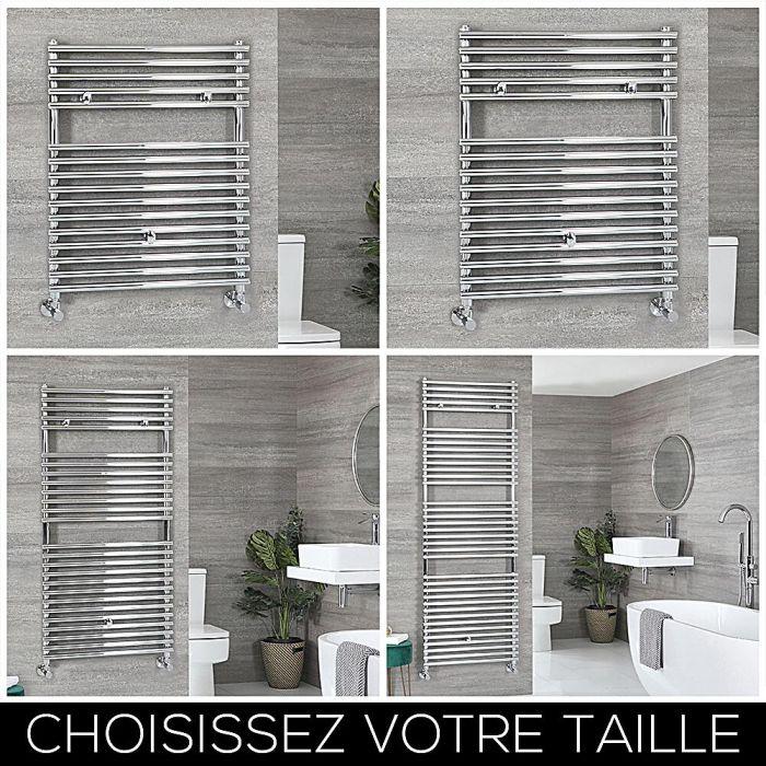 Sèche-serviettes – Chromé – Choix de tailles – Arno