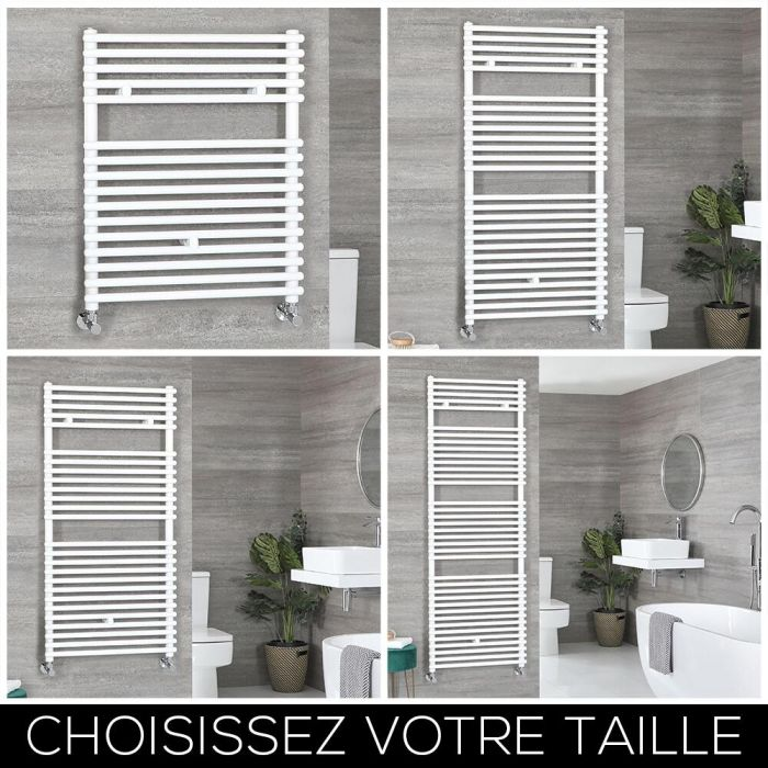 Sèche-serviettes – Blanc – Choix de tailles – Arno