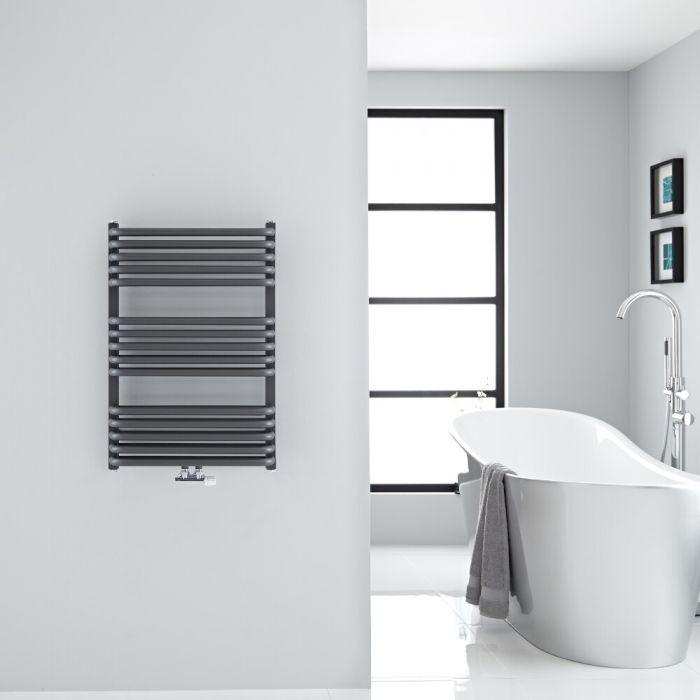Sèche-serviettes eau chaude - Anthracite - 73,6 x 50 cm - Arch