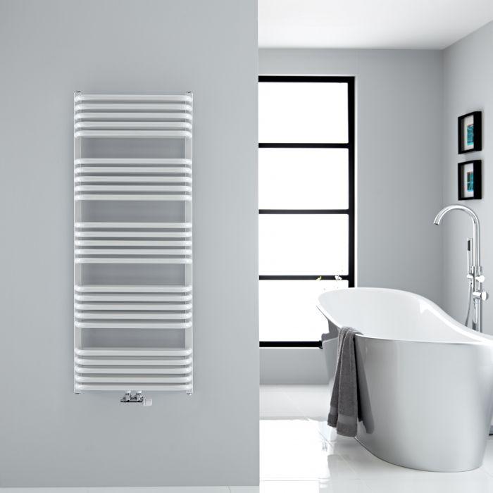 Sèche-serviettes eau chaude - Blanc - 126,9 x 50 cm - Arch