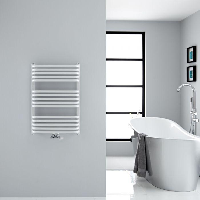 Sèche-serviettes eau chaude - Blanc - 73,6 x 50 cm - Arch