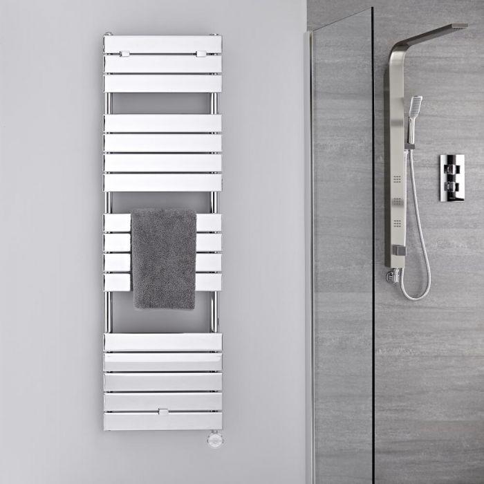 Sèche-serviettes électrique Chromé 151,2 x 45cm Lustro