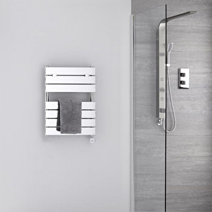 Sèche-serviettes électrique - Chromé - 62 cm x 45 cm - Lustro