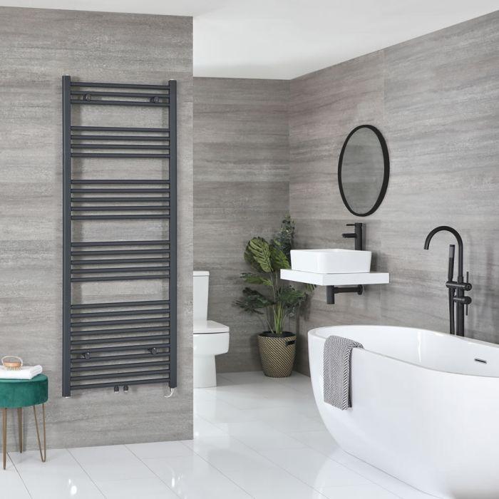 Sèche-serviettes électrique – Anthracite – 160 cm x 60 cm - Neva