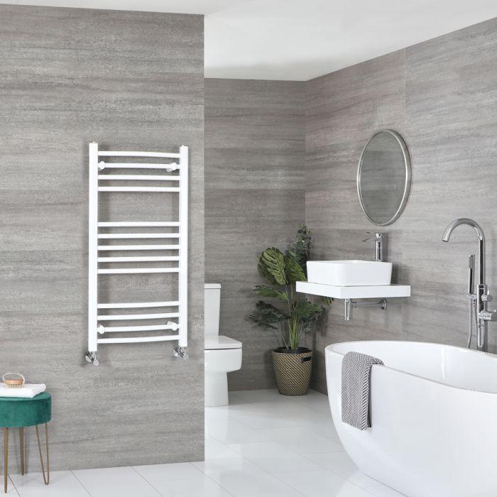 Sèche-serviettes incurvé – Blanc – 100 cm x 50 cm - Ive
