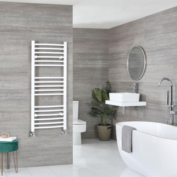 Sèche-serviettes incurvé – Blanc – 120 cm x 50 cm - Ive