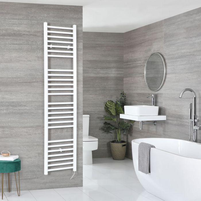 Sèche-serviettes électrique plat – Blanc – 180 cm x 40 cm – Ive
