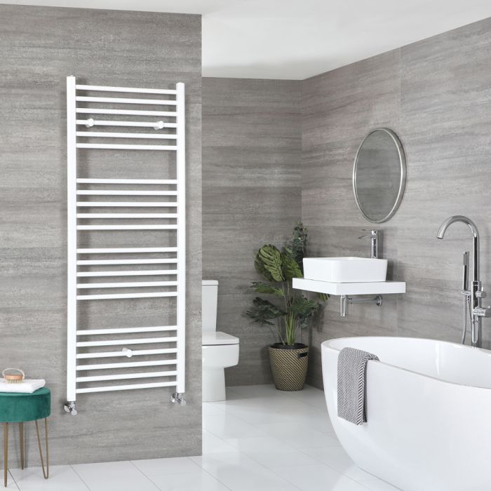 Sèche-serviettes plat – Blanc – 160 cm x 50 cm - Ive