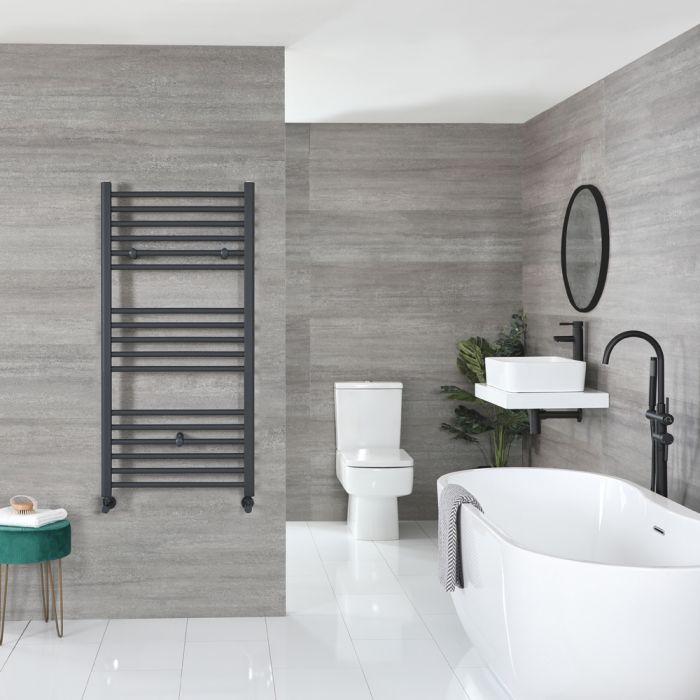Sèche-serviettes plat – Anthracite – 120 cm x 60 cm - Artle