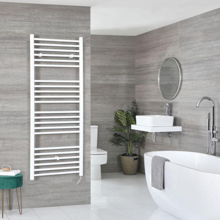 Sèche-serviettes électrique plat – Blanc – 160 cm x 60 cm – Ive
