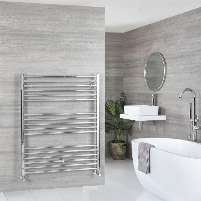 Sèche-serviettes plat – Chromé – 120 cm x 100 cm - Kent