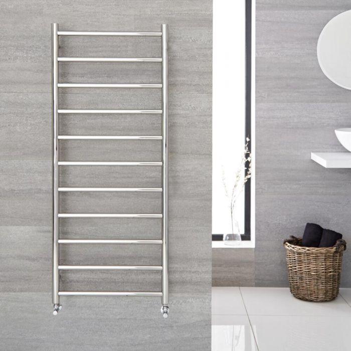 Sèche-serviettes eau chaude 50cm x 120cm - Quo chromé - 380 watts