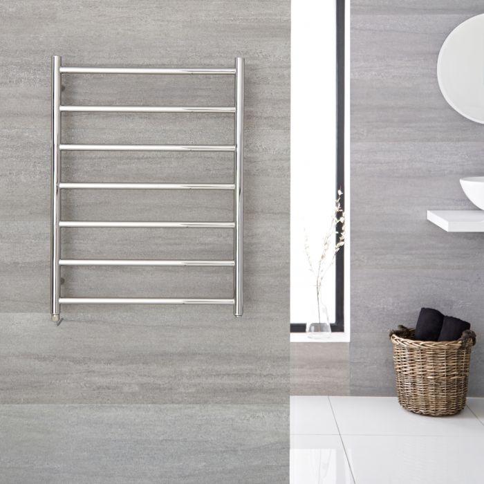 Sèche-serviettes électrique chromé 60cm x 80cm - Quo