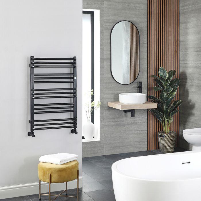 Sèche-serviettes – Noir – 78 cm x 50 cm – Terma Pola