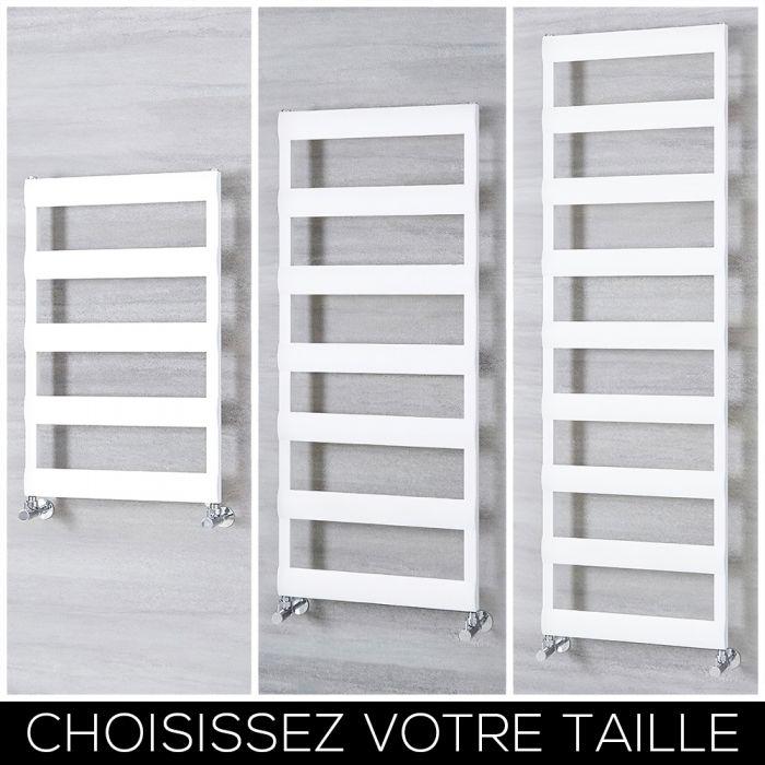 Sèche-serviettes en aluminium– Blanc – Choix de tailles - Ordo