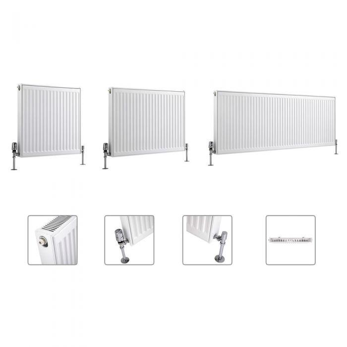 Radiateur à panneaux – Tailles multiples (Type 11) - Eco