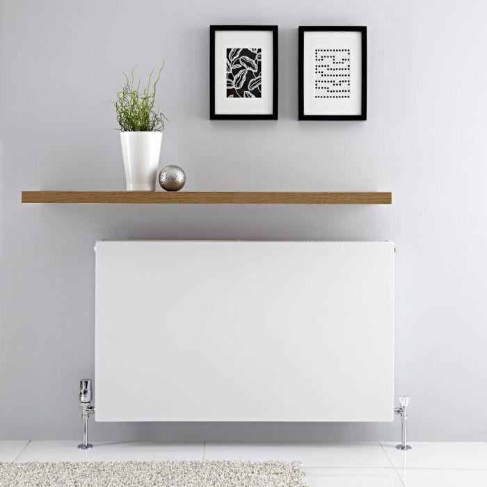 Radiateur horizontal Blanc Type 21 Merus 60 x 100cm 1646 watts