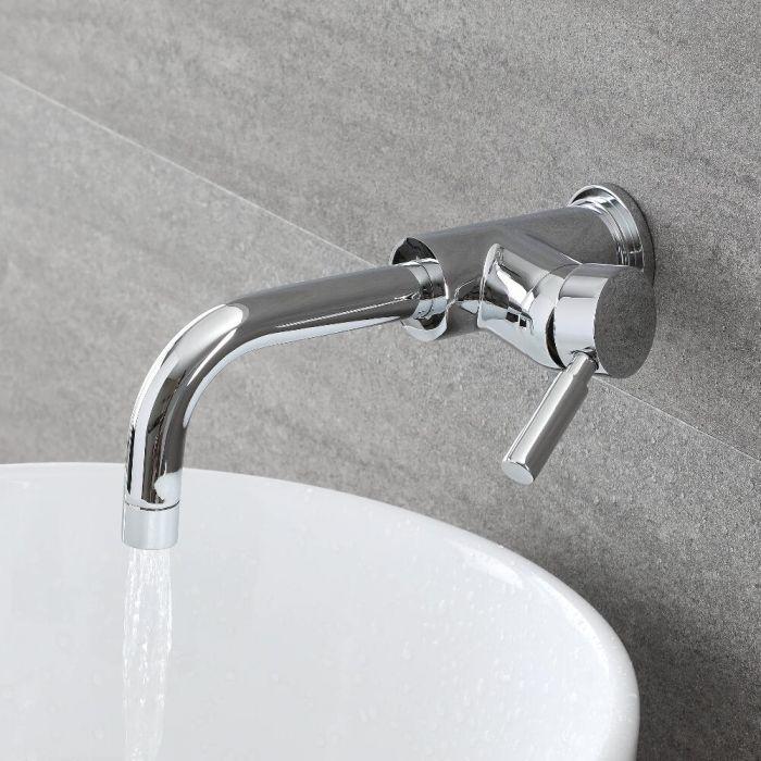 Mitigeur lavabo mural - Como
