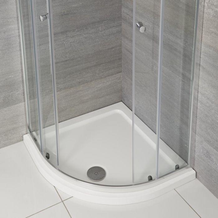 Receveur de douche quart de rond à profil bas – 100 cm x 100 cm - Maxon