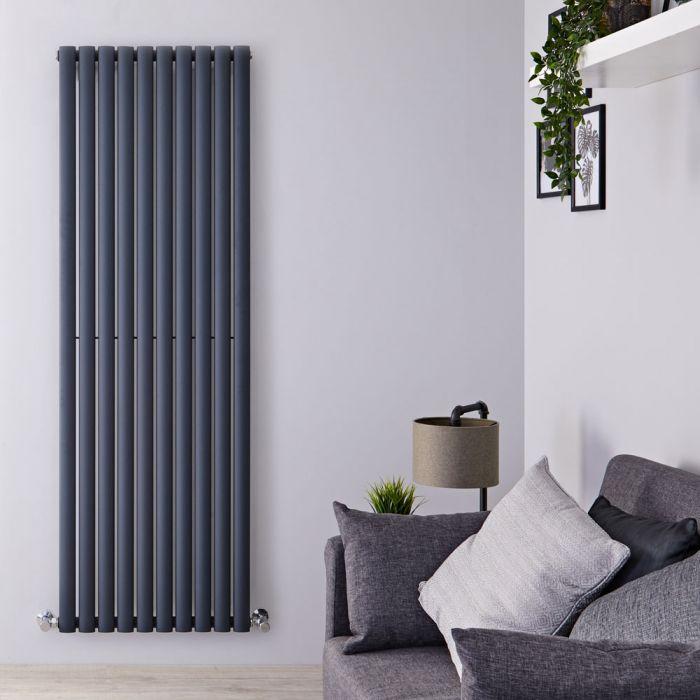 Radiateur design vertical – Anthracite – 178 cm x 59 cm – Vitality