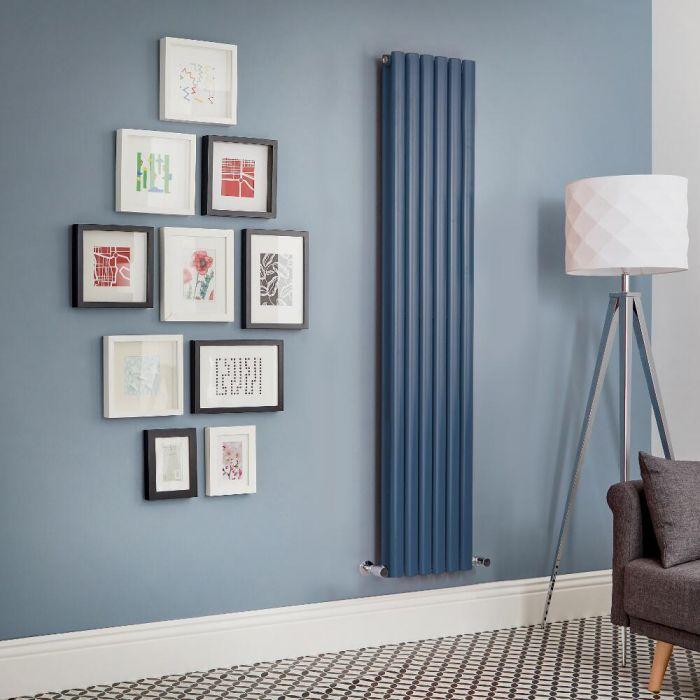 Radiateur design vertical – Bleu foncé – Choix de tailles - Vitality