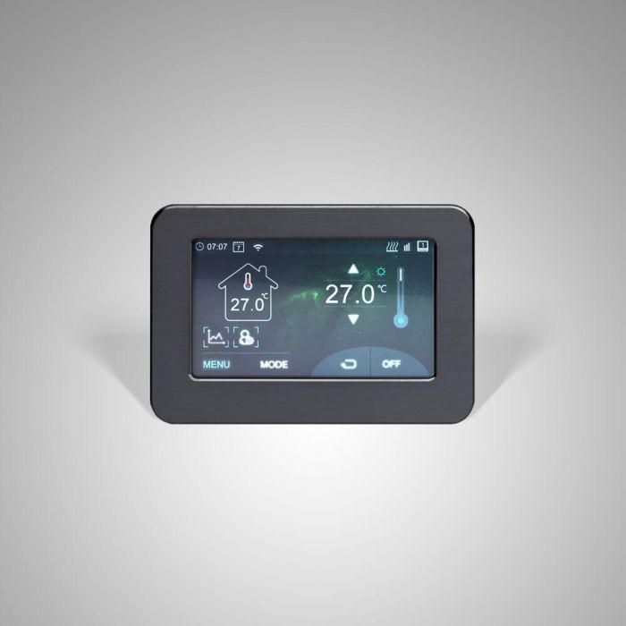 Thermostat à écran tactile Wi-Fi pour le chauffage électrique