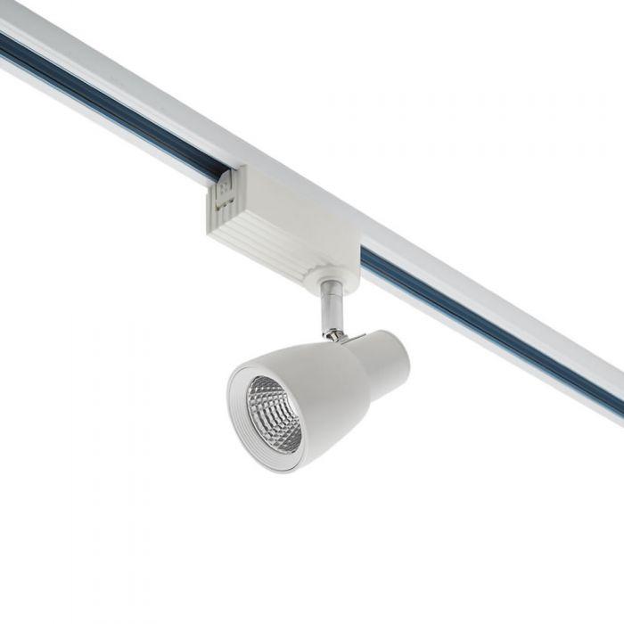 Biard Spot led Blanc pour Rail 10.2x9.75cm