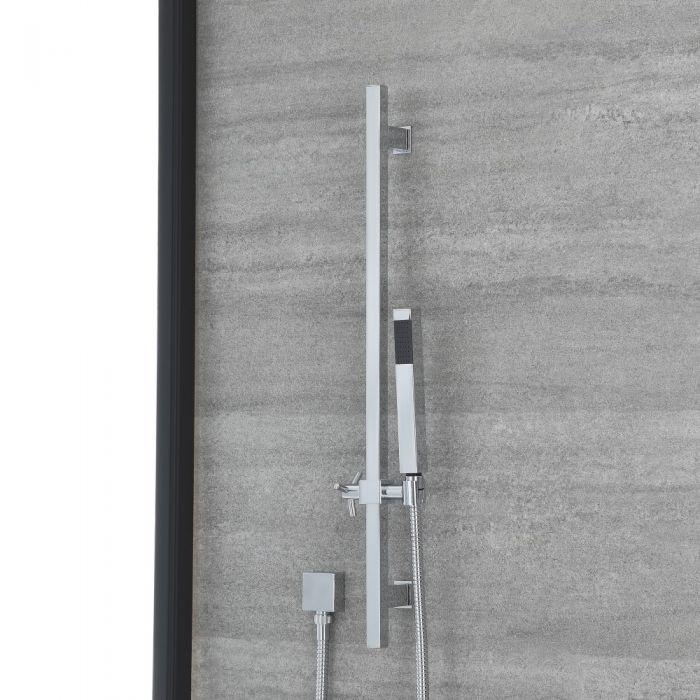 Kit douchette sur rampe – Chromé - Select