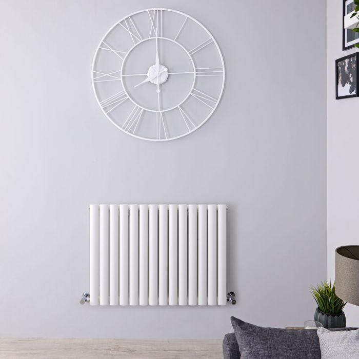 Radiateur Horizontal Vitality Blanc 60cm x 82,6cm x 5,6cm 781watts