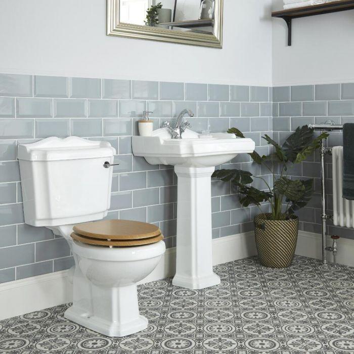 Pack WC et lavabo sur colonne - Oxford